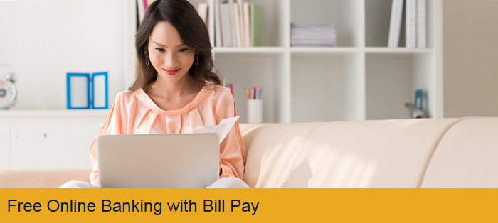 Free Online Banking with Bill Pay
