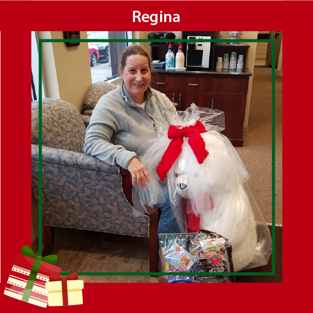 Teddy Bear Winner Regina