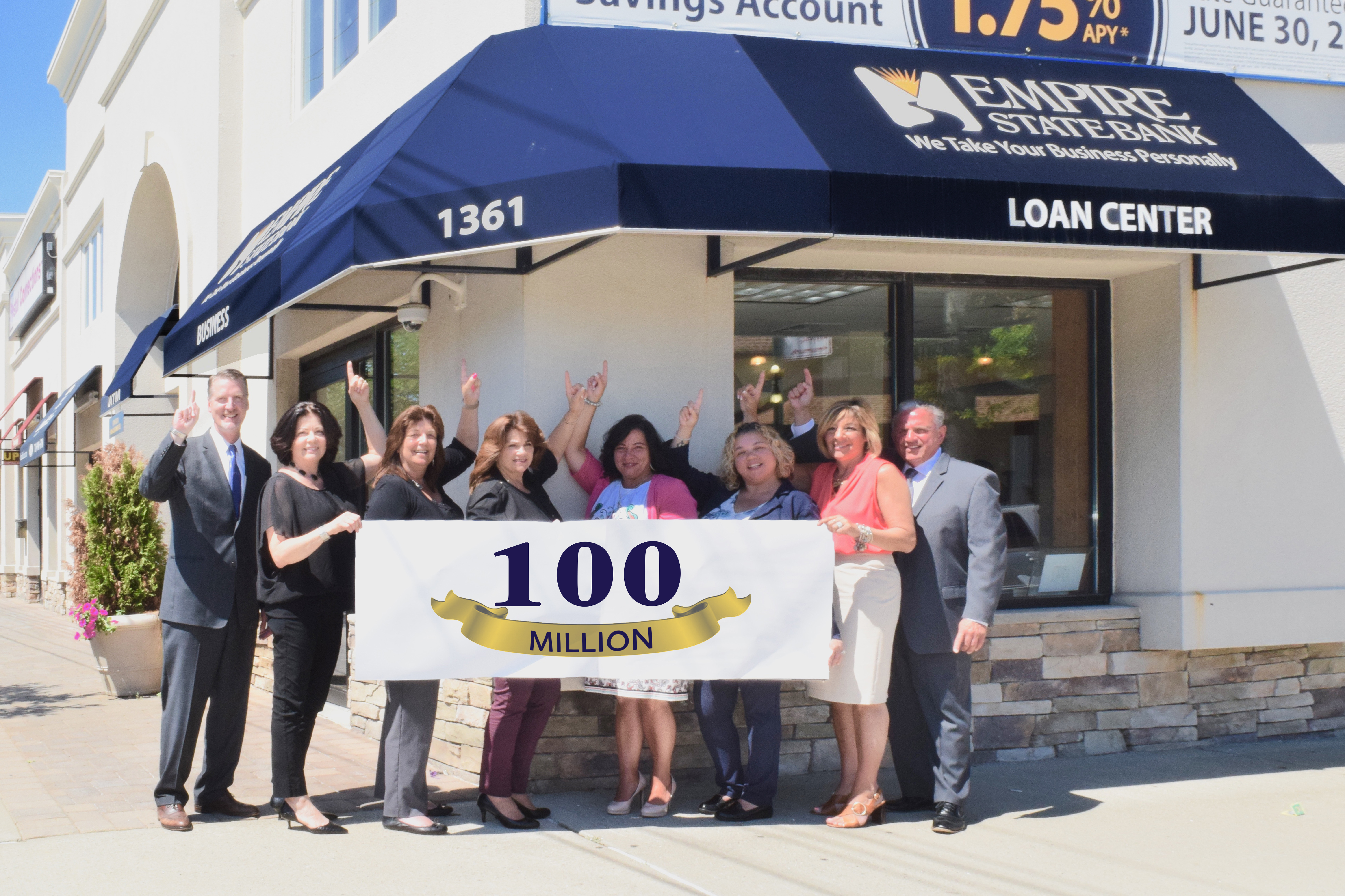 Empire State Bank New Dorp Milestone