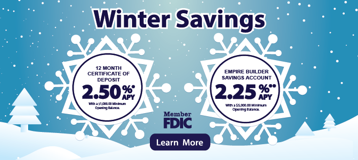Winter Savings Learn More